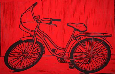 Bike 5 Print by William Cauthern
