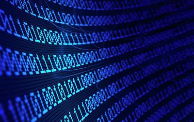 Repetition Photograph - Binary Code by Andrzej Wojcicki