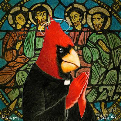 Bird Of Pray... Print by Will Bullas