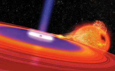 Black Hole Print by Don Dixon