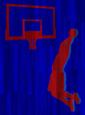 Blake Photograph - Blake Griffin Los Angeles Clippers by Joe Hamilton