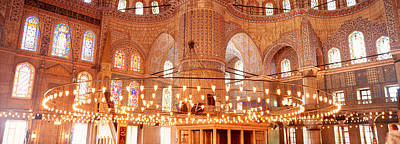 Midday Photograph - Blue Mosque, Istanbul, Turkey by Panoramic Images