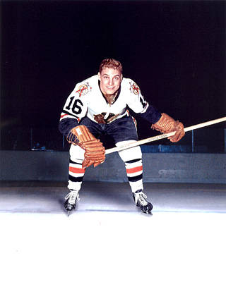 Bobby Hull Print by Retro Images Archive