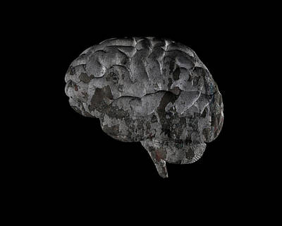 Brain Disease Print by Christian Darkin