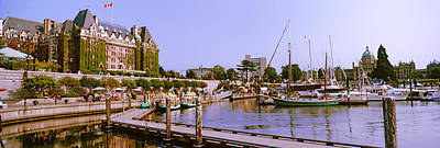 Buildings At The Waterfront, Empress Print by Panoramic Images