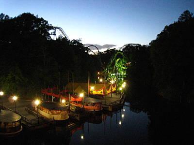 Loch Photograph - Busch Gardens - 121212 by DC Photographer