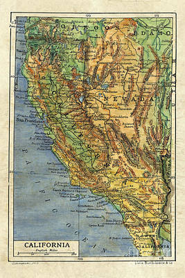 California 1906 Original by Lisa Middleton