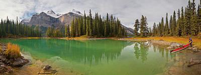 Canadian Sports Photograph - Canada, Alberta, Jasper National Park by Gary Luhm