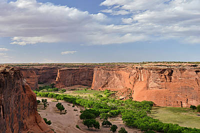 Indian Photograph - Canyon De Chelly From Sliding House Overlook by Christine Till