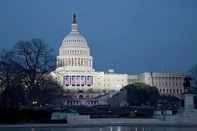 Capitol Building Print by Jim West