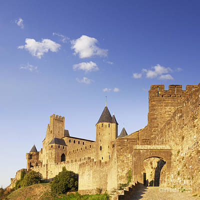Languedoc Photograph - Carcassonne Languedoc-roussillon France by Colin and Linda McKie