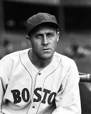 Red Sox Photograph - Carl Reynolds by Retro Images Archive