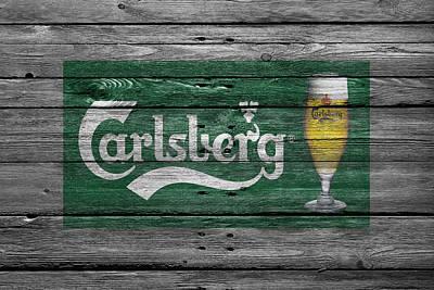 Handcrafted Photograph - Carlsberg by Joe Hamilton
