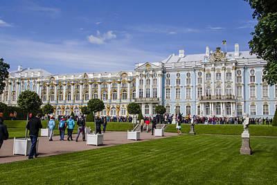 Catherine Palace - St Petersburg Russia Print by Jon Berghoff