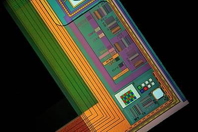Component Photograph - Ccd Camera Sensor by Antonio Romero