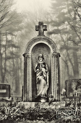 Cemetery Print by HD Connelly