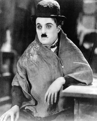 Charles Chaplin Print by Silver Screen