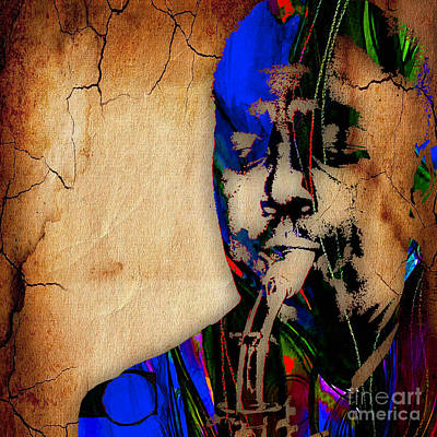 Sax Mixed Media - Charlie Parker Collection by Marvin Blaine