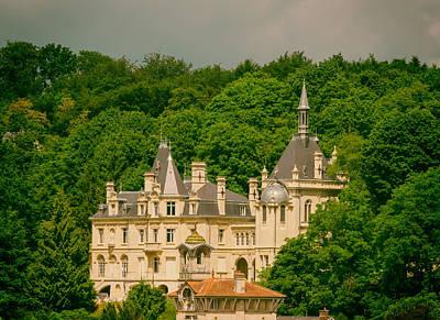 Chateau De Jonval Print by Mountain Dreams