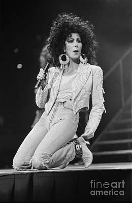 Cher Photograph - Cher by Concert Photos