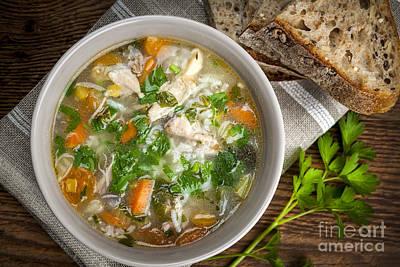 Chicken Soup  Print by Elena Elisseeva