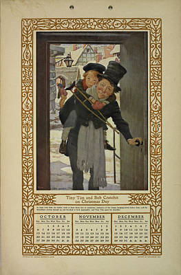 Religious Festival Photograph - Children Of Dickens. by British Library