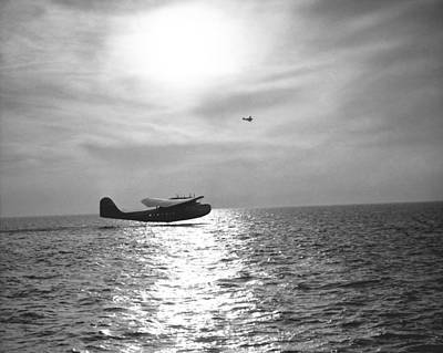 China Clipper Seaplane Print by Underwood Archives