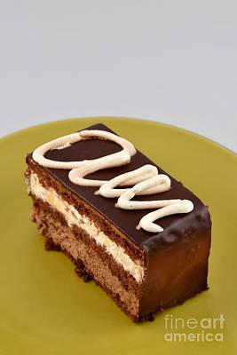 Still-life Photograph - Chocolate Cake by George Atsametakis