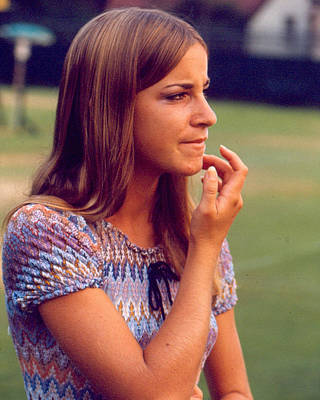 Us Open Photograph - Chris Evert by Retro Images Archive