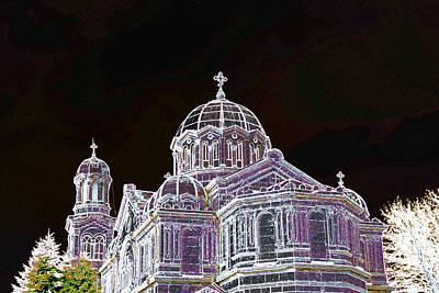 Church In Burgas  Original by Lali Kacharava