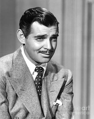 Clark Gable Print by MMG Archives