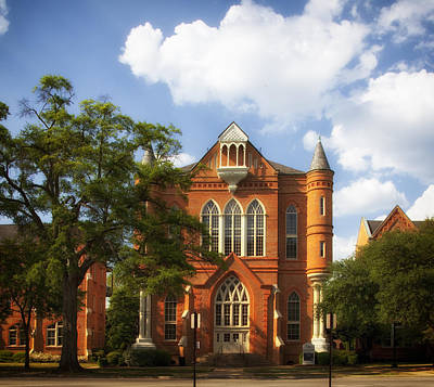 Clark Hall - University Of Alabama Print by Mountain Dreams