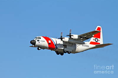 C130 Photograph - Coast Guard Alaska by Rick  Monyahan