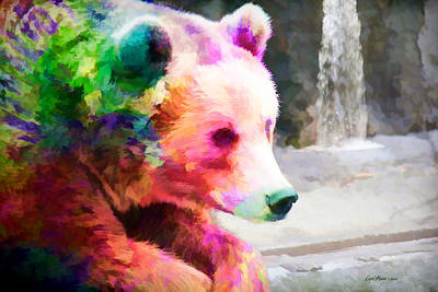 Animals Photograph - Coat Of Many Colors by EricaMaxine  Price