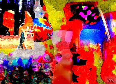 Colorful Print by Kelly McManus