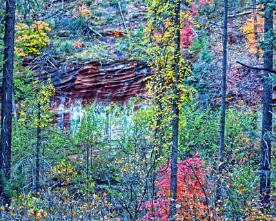 West Fork Digital Art - Colorful Wall by Brian Lambert