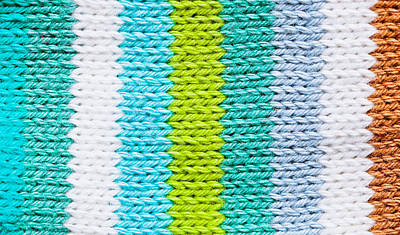 Baby Wool Photograph - Colorful Wool by Tom Gowanlock