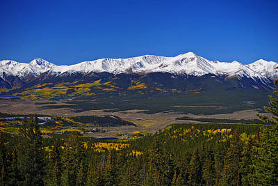 Er Photograph - Colors Of Elbert by Jeremy Rhoades