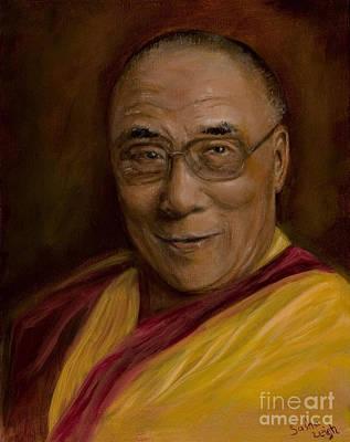 Spiritual Teacher Painting - Compassion by Sasha Leigh