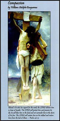 Jesus Digital Art - Compassion by William Bouguereau