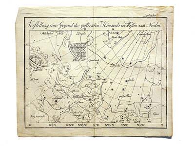 Constellations Print by Detlev Van Ravenswaay