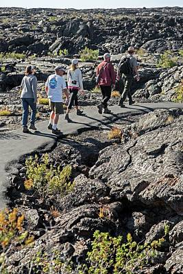 Craters Of The Moon Walking Tour Print by Jim West