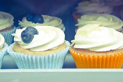 Cupcake Photograph - Cupcakes by Tom Gowanlock