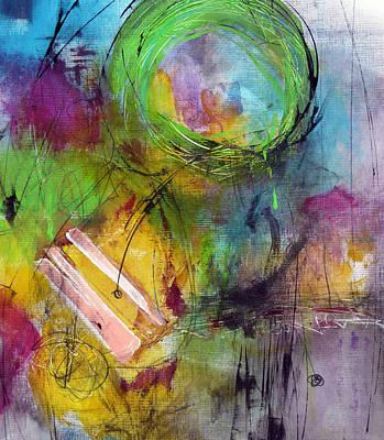 Curious Print by Katie Black