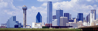 Dallas, Texas, Usa Print by Panoramic Images