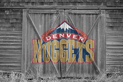 Nba Photograph - Denver Nuggets by Joe Hamilton