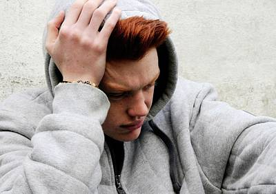 Psychiatry Photograph - Depressed Teenager by Cordelia Molloy