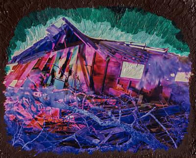 Detonation Print by Scott Campbell