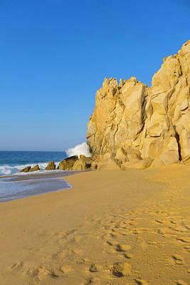 Divorce Beach, Cabo San Lucas, Baja Print by Douglas Peebles