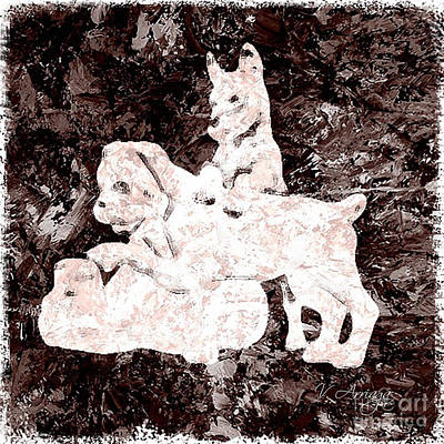 Dogs Print by Victor Arriaga